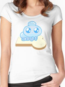 Jelly Kid and Bread from Bravest Warriors Women's Fitted Scoop T-Shirt