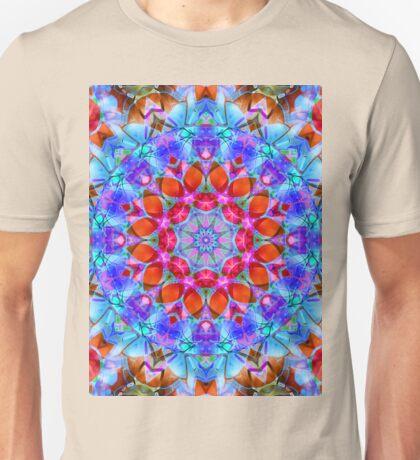 kaleidoscope Diamond Flower G408 Unisex T-Shirt