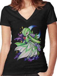 Gardevoir Women's Fitted V-Neck T-Shirt