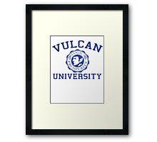 Vulcan University Framed Print