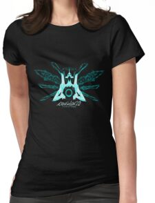 Evangelion 2.0 - EVA UNIT 01 Angel Logo Womens Fitted T-Shirt