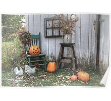Autumn Greetings Poster