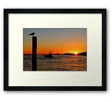 Twilight Voyage Framed Print
