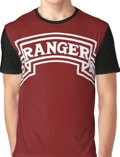 75th Ranger stencil Graphic T-Shirt