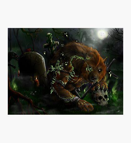Werewolf - The Evocation Photographic Print