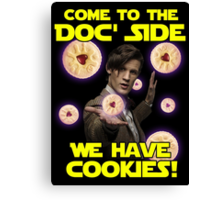 Come to the Doc' Side Canvas Print