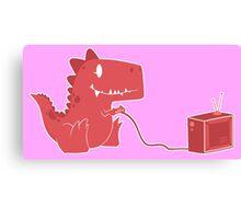 gamesaurus ruby Canvas Print