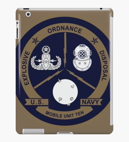 EOD Mobile Unit 10 iPad Case/Skin