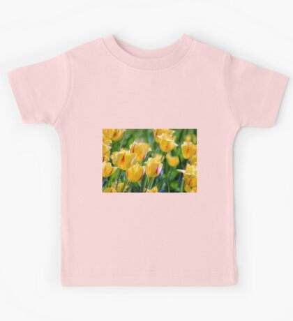 Breezy Tulips Kids Tee