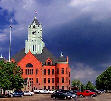 Clinton County Courthouse by Nadya Johnson