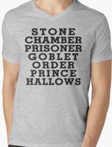 Stone Chamber Prisoner Goblet Order Prince Hallows - Harry Potter Books, List of Harry Potter Books, Harry Potter Shirt T-Shirt