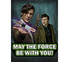 Use the Force, Doctor Jedi (Realistic) Photographic Print