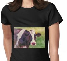 Milk Maid Womens Fitted T-Shirt