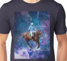 Horse Polo Galaxy Unisex T-Shirt