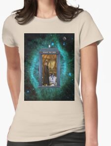 Artoo Meets Doctor Who Womens Fitted T-Shirt