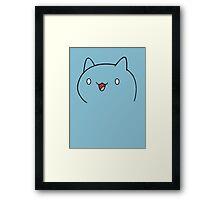Catbug Face Framed Print
