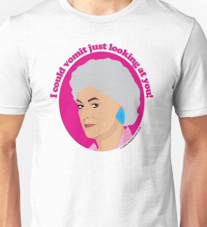 Bea Arthur as Dorothy Zbornak from The Golden Girls Unisex T-Shirt