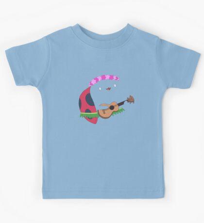 Bravest Warriors ~ Catbug Guitar Kids Tee