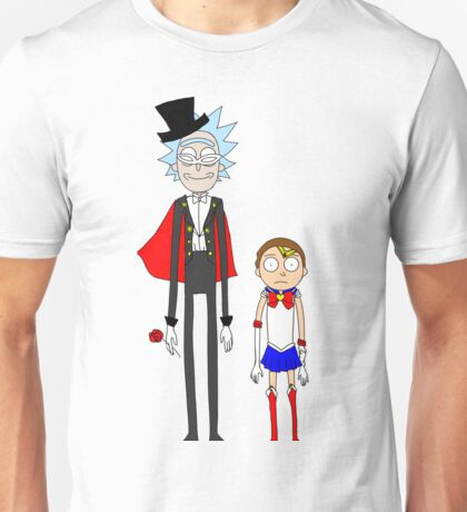 Tuxedo Rick and Sailor Morty Unisex T-Shirt