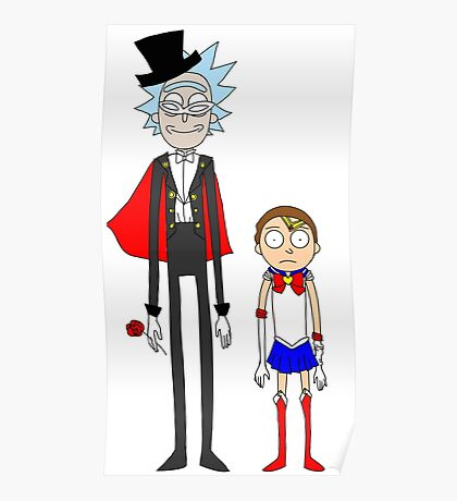 Tuxedo Rick and Sailor Morty Poster