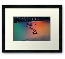 Apple Pride Framed Print