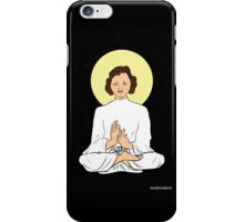 Leia as the Buddha iPhone Case/Skin