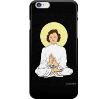 Leia as the Buddha iPhone Case/Skin