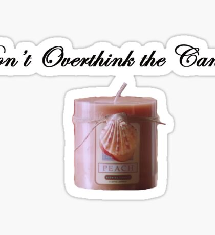 SNL Christmas Candle Sticker