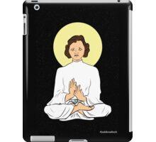 Leia as the Buddha iPad Case/Skin