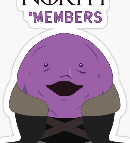 North members Sticker