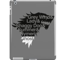 Dire Wolves Within a Direwolf iPad Case/Skin