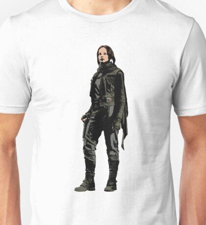 Jyn Erso - Star Wars: Rogue One II - White Unisex T-Shirt