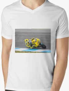 Maverick Vinales Champion Moto2 Racer Mens V-Neck T-Shirt