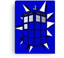 Type 40 TARDIS Canvas Print