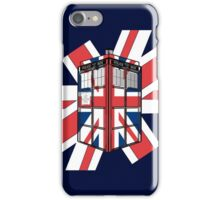 Type UK TARDIS iPhone Case/Skin