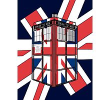 Type UK TARDIS Photographic Print