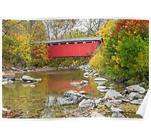 Everett Covered Bridge Poster