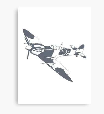 Two Tone Spitfire Canvas Print