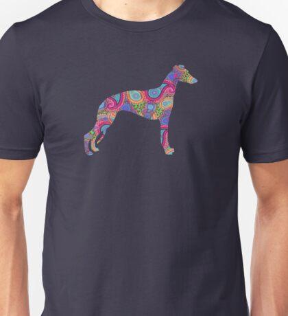 Paisley Whippet Unisex T-Shirt