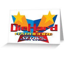 DieHard: Hardcore Series Logo Greeting Card