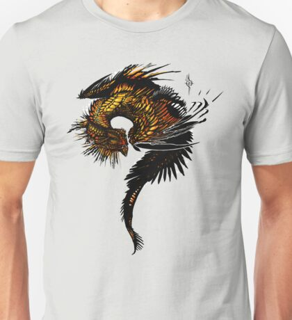 The monarch dragon Unisex T-Shirt