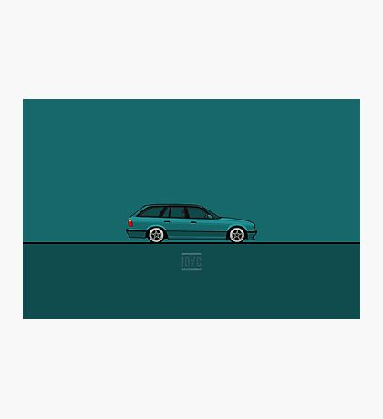 BMW 5-Series Photographic Print