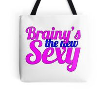 Sherlock, Brainy's the New Sexy Tote Bag