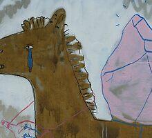 Heartbreaking graffiti by Maggie Hegarty