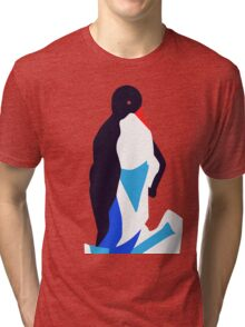 Animal (penguin) illustration Tri-blend T-Shirt