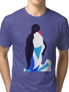 Animal (penguin) illustration Tri-blend T-Shirt