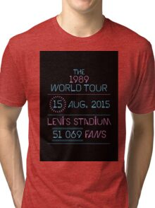 15th August - Levi's Stadium Tri-blend T-Shirt