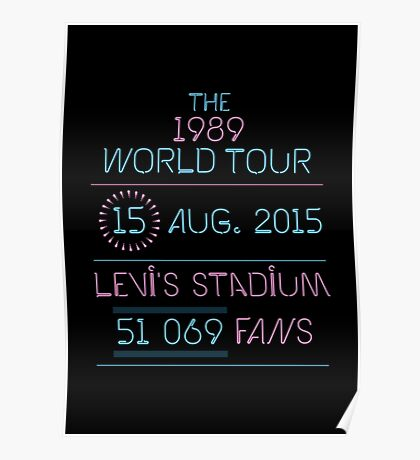 15th August - Levi's Stadium Poster