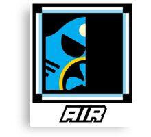 Robot Master - Air Canvas Print