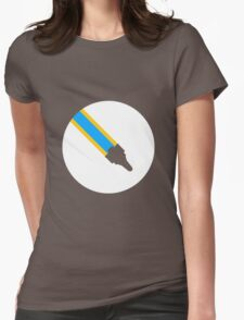 Faster Than Luna (Explore) Womens Fitted T-Shirt